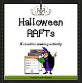 Halloween RAFT Writing Assignments