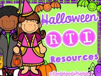 Fall (Halloween) Nonsense Word Fluency Bingo by Ms. Lendahand