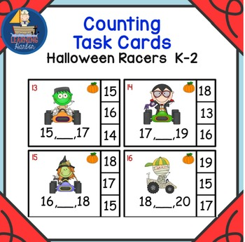 Halloween Racers Find the Number that Comes Between Two Given Numbers