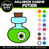 Halloween Rainbow Potion Clip Art