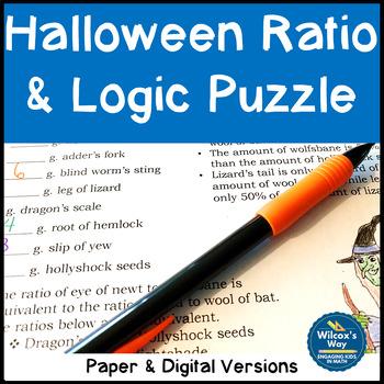 Halloween Math Ratio Activity