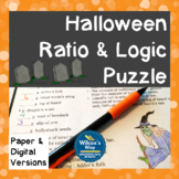Halloween Math Ratio Activity