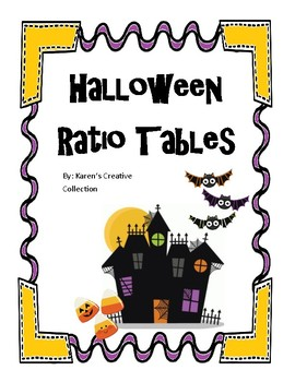 Halloween Ratio Tables