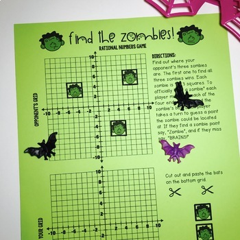 Halloween Rational Numbers Game