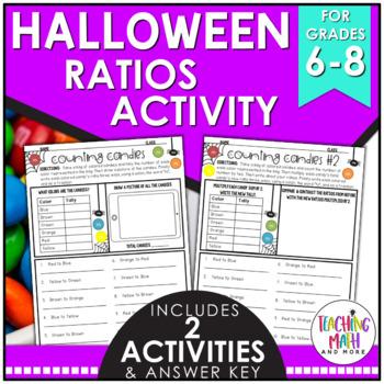 Halloween Ratios Activity