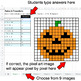 Halloween - Ratios & Proportions - Google Sheets Pixel Art