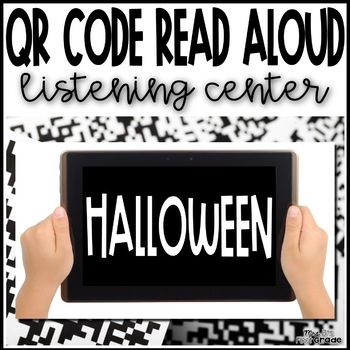 Halloween QR Code Listening Center