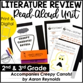 Halloween Read-Aloud Unit   Use With Book Creepy Carrots!