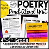 Halloween Read-Aloud Unit   Use With Frankenstein Makes a