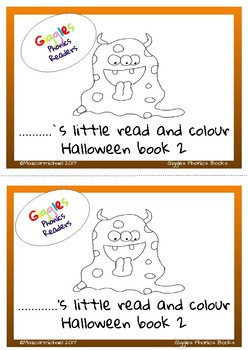 Halloween Read and Colour Book 2