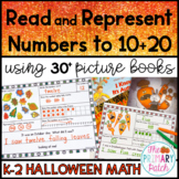 Halloween: Read and Represent Numbers to 20