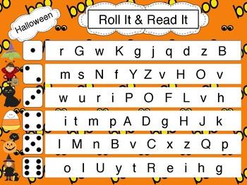 Halloween Read and Roll