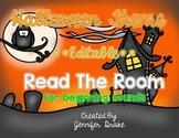 Halloween Read the Room **EDITABLE**