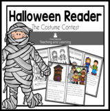 Halloween Reader: The Costume Party  {Emergent Reader}