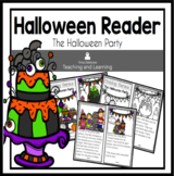 Halloween Reader: Holiday Series- The Halloween Party  {Emergent Reader}