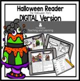 Halloween Reader: The Halloween Party  {Emergent Reader} DIGITAL VERSION