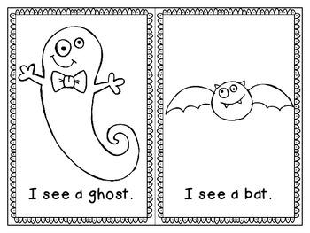 Halloween Reader freebie