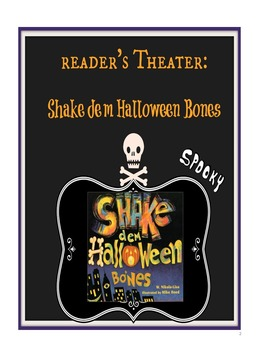 Halloween Reader's Theater and Robust Vocabulary Bundle