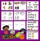 Halloween Readers -3 Levels + Word Wall - Pumpkin Carving Trick or Treat