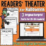 Halloween Readers' Theater: 3 scripts | Print and Digital |