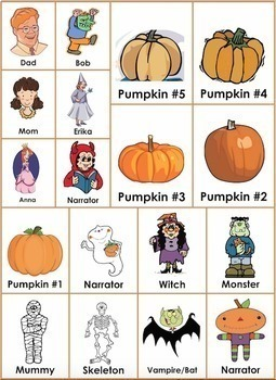 Halloween Readers' Theater Mini-Bundle for Emergent and Beginning Readers