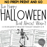 Halloween Reader's Theater & Reading Literature Toolkit fo