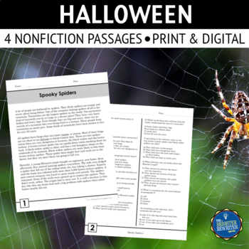 Halloween Nonfiction Reading Passages