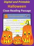 Halloween Reading Activity (Digital & Printable)