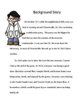 Halloween Reading Activity Fairy Tale Mystery Case File #11: Read Aloud Version