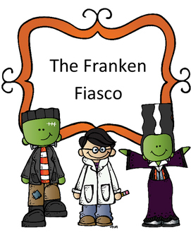 Halloween Reading Activity: Fairy Tale Mystery Case File #11 The Franken Fiasco