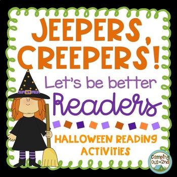 Halloween Reading Activity Pack