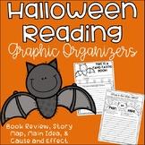 Free Halloween Reading Graphic Organizers