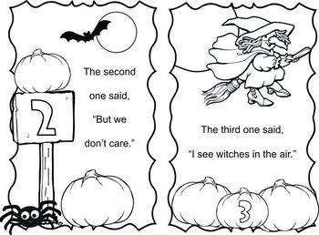 Halloween Reading Buddy Booklet