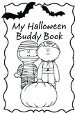Halloween Reading Buddy Booklet