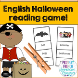 Halloween Reading Centre Game - English