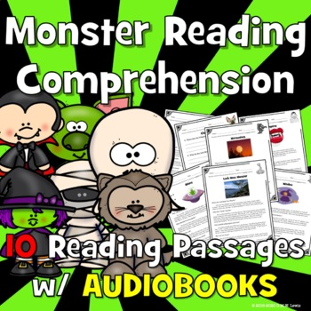 Monster Reading Comprehension: Scary Reading Comprehension: Urban Legends