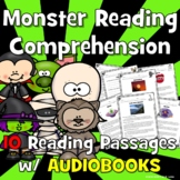 Monster Reading Comprehension: Scary Reading Comprehension