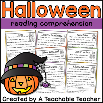 Halloween Reading Comprehension