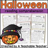 Halloween Reading Comprehension