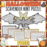 Halloween Reading Comprehension Activity FREE | Bats