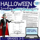 Halloween Reading Comprehension - Passage, Assessment and Craft.