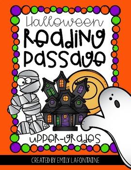 Halloween Reading Comprehension Passage