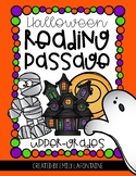 Halloween Reading Comprehension Passage