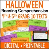Halloween Reading Comprehension Passages - Digital Hallowe