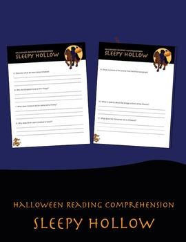 Halloween Reading Comprehension: Sleepy Hollow