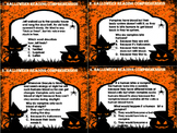 Halloween Reading Comprehension Task Cards (32 Task Cards)
