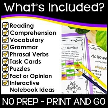 Halloween Reading