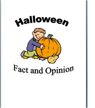 Halloween Reading Fact and Opinion!