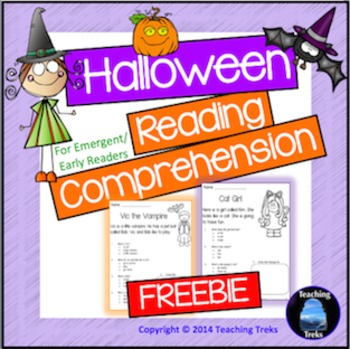 Halloween Reading Free
