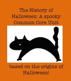 Halloween Reading Informational Text Mini- Unit